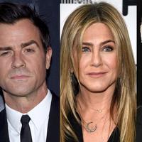 Jenniver Aniston dan Justin Theroux dikabarkan bertengkar karena kehadiran Brad Pitt. (AFP/Bintang.com)
