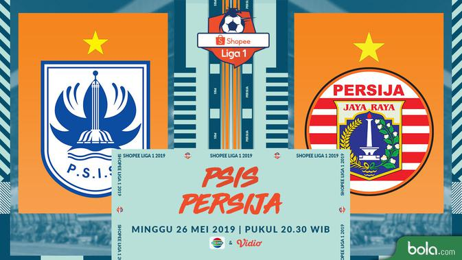 Eksklusif Live Streaming Shopee Liga 1 di Indosiar: PSIS Vs Persija 2