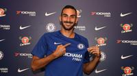 Chelsea resmi mendapatkan tanda tangan bek Torino, Davide Zappacosta, pada Jumat (1/9/2017). (dok. Chelsea)