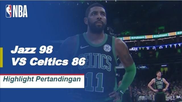 Donovan Mitchell mencetak 28 poin dan Ricky Rubio menambah 20 saat Jazz mematahkan dua kekalahan beruntun dengan menjatuhkan Celtics di jalan, 98-86.