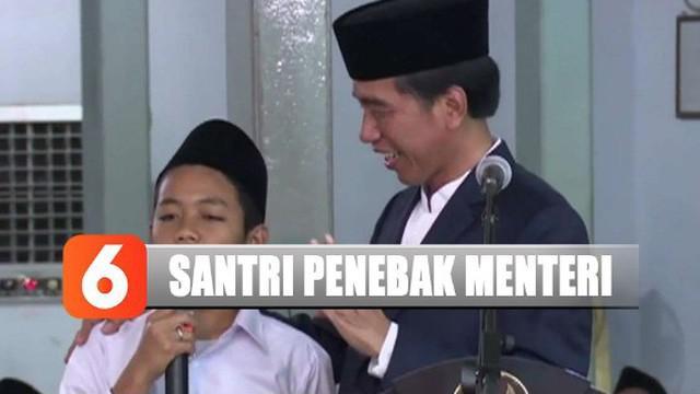 Setelah salah sebut nama Prabowo sebagai menteri 3 tahun lalu, Muhammad Aska Vikri ternyata tidak lagi menjadi santri karena keterbatasan ekonomi.