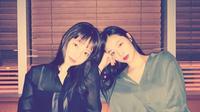 Sulli dan Goo Hara.  (Instagram/ koohara__)