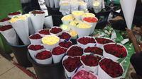 Pasar Bunga Rawa Belong. Liputan6.com/Athika Rahma