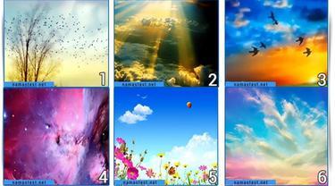 Pilih Satu Gambar Langit yang Paling Disuka, Dapat Ungkap Kepribadianmu