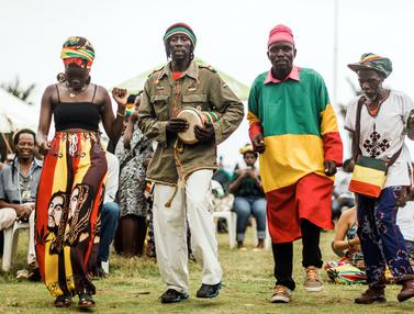 Warga Afrika Selatan Rayakan Ulang Tahun Bob Marley