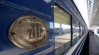Rangkaian kereta Zarengold yang melintasi wilayah Kutub Utara dari Rusia ke Singapura (AFP/Olga Maltseva)