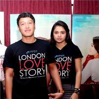 Dimas Anggara dan Michelle Ziudith di London Love Story. (Andy Masela/Bintang.com)