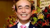 Komedian Jepang Ken Shimura. (Kyodo News via AP)