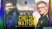 Premier League - Chelsea Vs Watford - Head to Head Pelatih (Bola.com/Adreanus Titus)