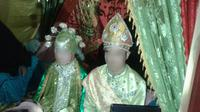 WNA Tiongkok Nikahi Gadis Desa Gorontalo Utara. (Liputan6.com/Arfandi Ibrahim)