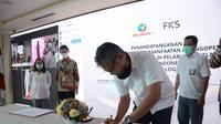 PT Pelindo I (Persero) menandatangani perjanjian kerja sama pemanfaatan dan pengoperasian Terminal Curah Kering di Pelabuhan Belawan