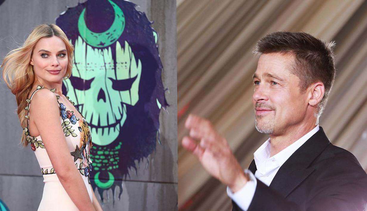 Usai bercerai dari Angelina Jolie, Brad Pitt dikabarkan tidak akan menjalin hubungan lagi dengan wanita lain. Namun hal itu terbantahkan oleh rumor yang beredar bahwa Pitt telah merayu seorang wanita bernama Margot Robbie. (AFP/Bintang.com)