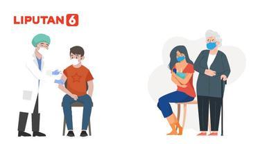 Banner Infografis Syarat Lansia, Komorbid hingga Ibu Menyusui Disuntik Vaksin Covid-19. (Liputan6.com/Abdillah)