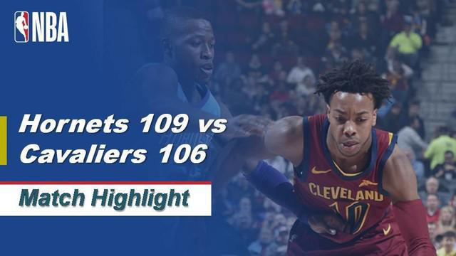 Berita Video Highlights NBA 2019-2020, Charlotte Hornets Vs Cleveland Cavaliers 109-106