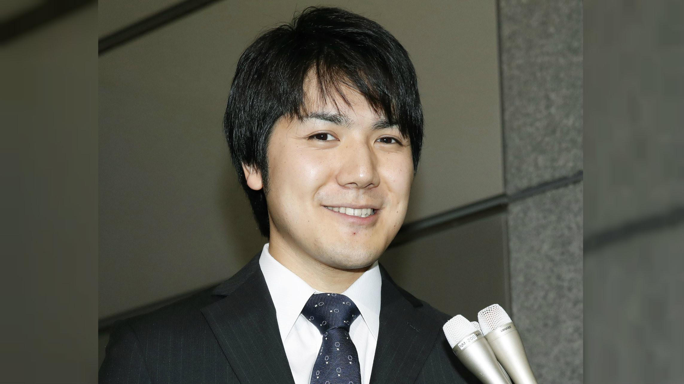 Kei Komuro (25), pria yang berhasil mencuri perhatian Putri Mako (Fumine Tsutabayashi/Kyodo News via AP)
