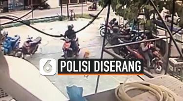 polisi diserang