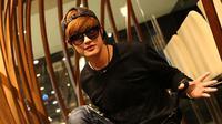 Lee Jeong Hoon temui penggemarnya dalam acara `Ngedate Bareng Artis` (liputan6.com/Zulfikar Abubakar)