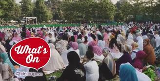 Intip Keseruan Hari Raya Idul Fitri Ala Syahrini