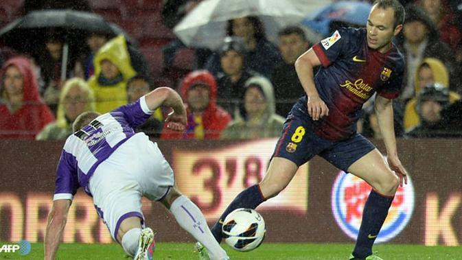 Nonton Live Streaming La Liga SCTV: Real Valladolid Vs FC Barcelona - Spanyol Bola.com
