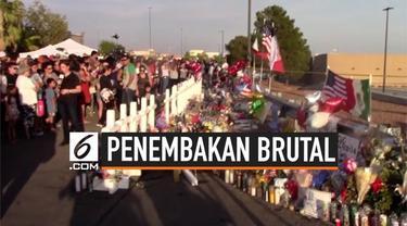 Keluarga dan teman korban penembakan brutal di El Paso Texas berkabung, Mereka berdoa bersama khususnya untuk 22 korban tewas dalam insiden tersebut.
