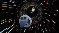 Ilustrasi wormhole dan perjalanan watu (time travel) (sumber: NASA.gov)