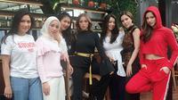 Chacha Frederica dan Girls Squad [foto: instagram/ramadhaniabakrie]