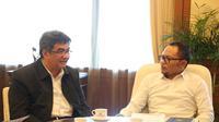 Terkait dengan rencana pemenuhan tenaga kerja, beberapa petinggi PT Pertamina melakukan audiensi dengan Menteri Ketenagakerjaan M Hanif Dhakiri, kemarin.
