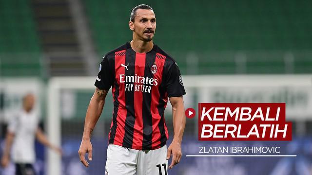 Berita video Zlatan Ibrahimovic pulih dari COVID-19 dan kembali jalani latihan bersama AC Milan