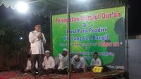 Anggota DPR dari Partai Golkar Mukhamad Misbakhun menyambangi Pondok Pesantren Cangaan di Bangil, Pasuruan (Istimewa)