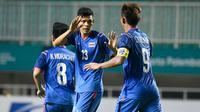 Timnas Thailand U-23 di Asian Gams 2018. (Bola.com/Dok. FAT)