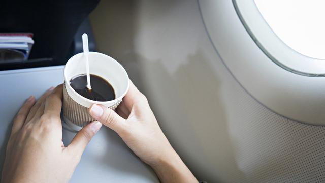 air dalam pesawat