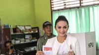 Krisdayanti di Pemilu 2019 (Instagram/ krisdayantilemos)