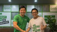 Ki-ka: CEO Grab Anthony Tan dan CEO Kudo Albert Lucius. (Foto: Grab)