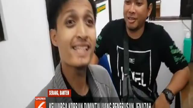 Viral keluarga AA Jimmy dimintai uang penebusan jenazah di RSUD Dokter Drajat Prawinegara, Serang, Banten.