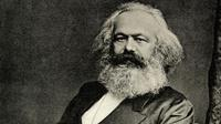 Ilustrasi Karl Marx - Global/AFP