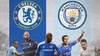 Premier League - 5 Pemain Pernah Perkuat Chelsea dan Manchester City (Bola.com/Adreanus Titus)
