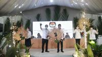 Tiga pasangan calon Gubernur dan Wakil Gubernur Sulut yang akan bertarung di Pilkada 9 Desember 2020.