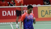 Jonatan Christie di Indonesia Masters 2020. (Bola.com/Muhammad Iqbal Ichsan)