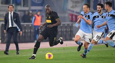 Inter Milan Tumbang di Markas Lazio