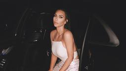 Lewat Insta Story, Kim terdengar bahagia saat Khloe Kardashian menjelaskan mengenai bentuk badannya saat ini. (instagram/kimkardashian)