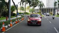 Siap memeriahkan pasar otomotif Tanah Air dengan meluncurkan all new Mazda3 di GIIAS 2019