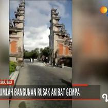 Gempa 6 SR di Nusa Dua, Bali, juga terasa hingga ke Banyuwangi, Jawa Timur.