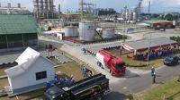 Kilang PT Pertamina Sumbagsel di Plaju, Sungai Gerong Palembang (Dok.istimewa / Nefri Inge)