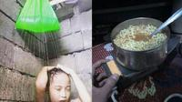 Lifehack ala Anak Kos (Sumber: Instagram/ngakakocak)