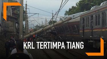 KRL Jakarta-Bogor mengalami anjlok pagi ini.