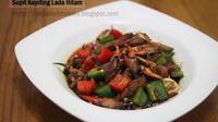Supit kepiting pun lezat bila diolah dengan baik