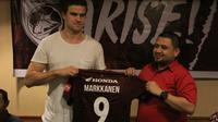 PSM Makassar resmi merekrut Eero Markkanen, pemain Timnas Finlandia yang pernah memperkuat Real Madrid B. (PSM Makassar)