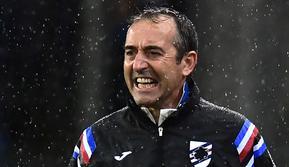 Pelatih Sampdoria, Marco Giampaolo, disebut-sebut akan segera duduk di kursi pelatih AC Milan. (AFP/Miguel Medina)