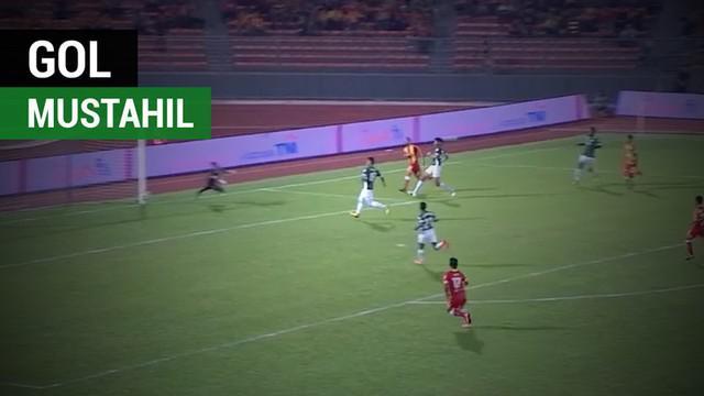 Berita video gol mustahil rekan setim Evan Dimas, Rufino Sevogia, untuk Selangor FA ke gawang Melaka United di Liga Super Malaysia 2018.