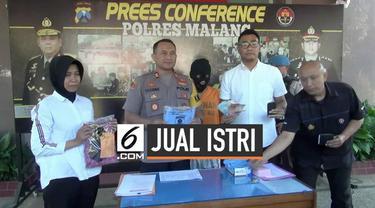 Seorang pria di Malang, Jawa Timur tega menjual istrinya pada pria hidung belang untuk layanan threesome. Kasus ini terungkap setelah pelaku menawarkan istrinya di sebuah grup Facebook.